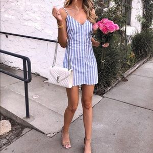 Nasty Gal Striped Mini Dress Size 4